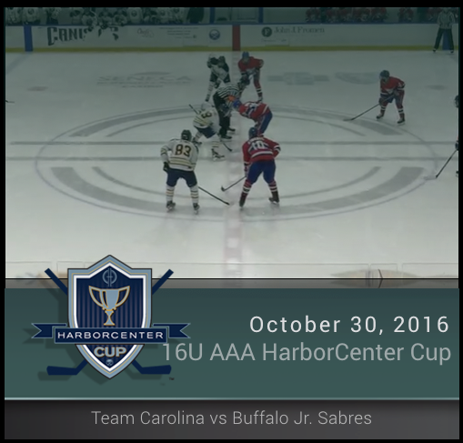 16U AAA Team Carolina vs Buffalo Jr. Sabres (Championship)