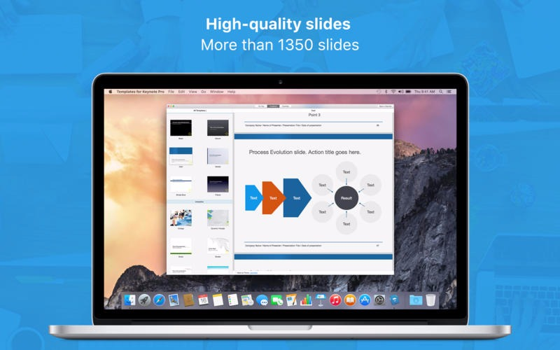 Templates for Keynote Pro - Made for Use