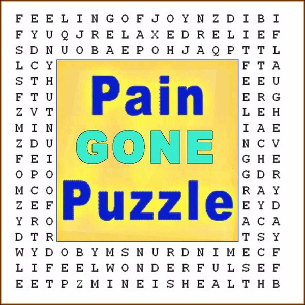 Pain Gone Word Search Puzzle