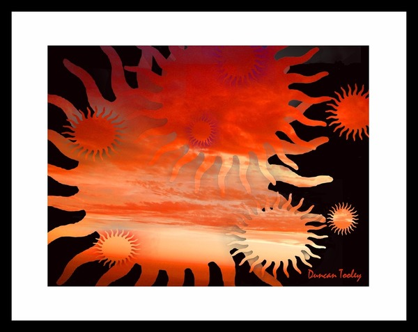 Sunset of Suns Print