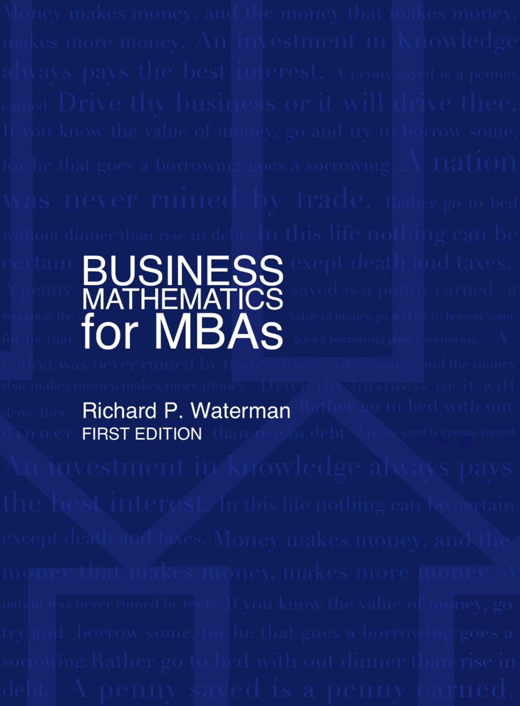 importance of business mathematics in mba Why business mathematics mathematics was always essential in analyzing markets, production systems and business operation in general the quantification of business activities than intensified in the beginning of the 20th century, took explosive proportions in the 70\'s and contributed to the reformulation of whole fields such as banking and.