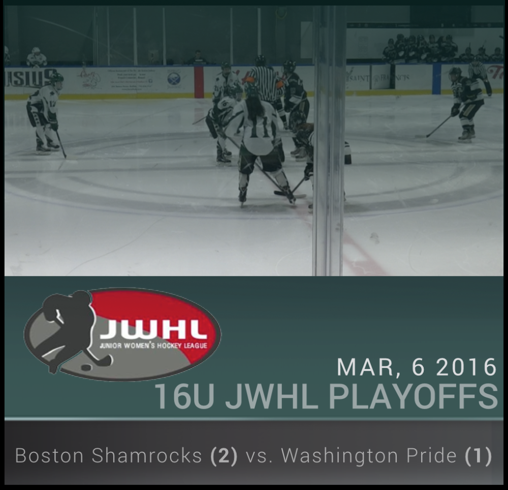 JWHL 16U - Washington vs. Boston