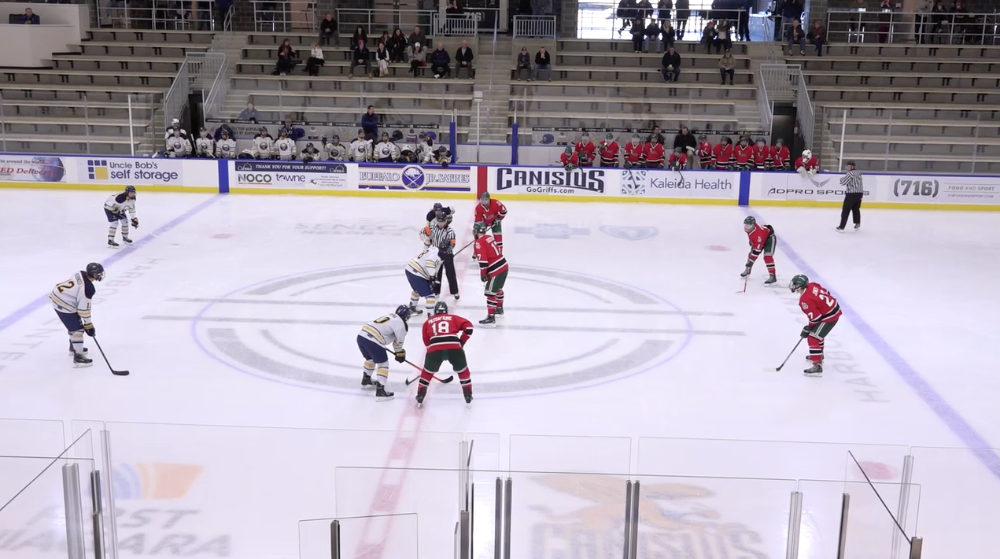 18U AAA Buffalo Jr Sabres vs Buffalo Saints - Semifinal