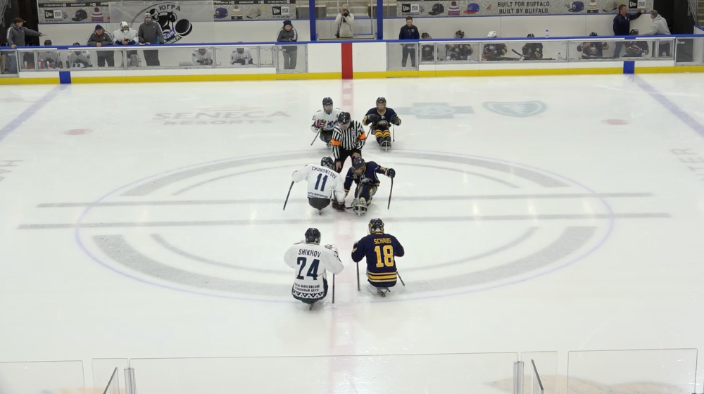 International Elite Sledge Team Yugra vs Buffalo Sabres - Championship