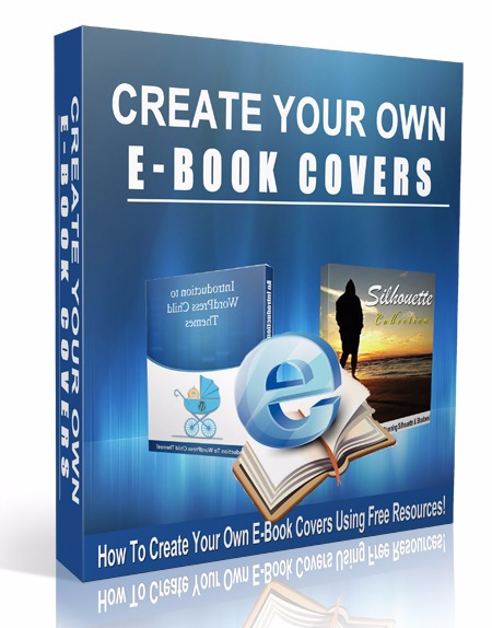 How To Make Creative Book Cover ~ Create your own e book covers digital selections