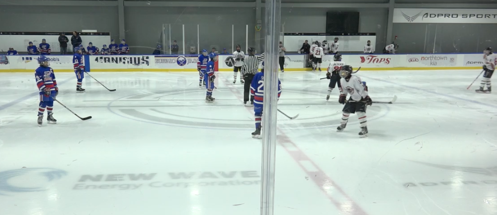 13U AAA - Buffalo Saints vs Rochester Americans