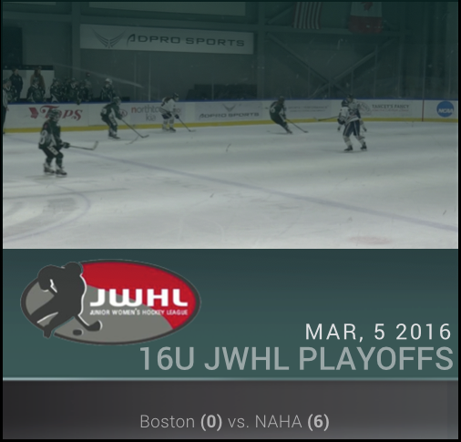 JWHL 16U - Boston vs NAHA Red